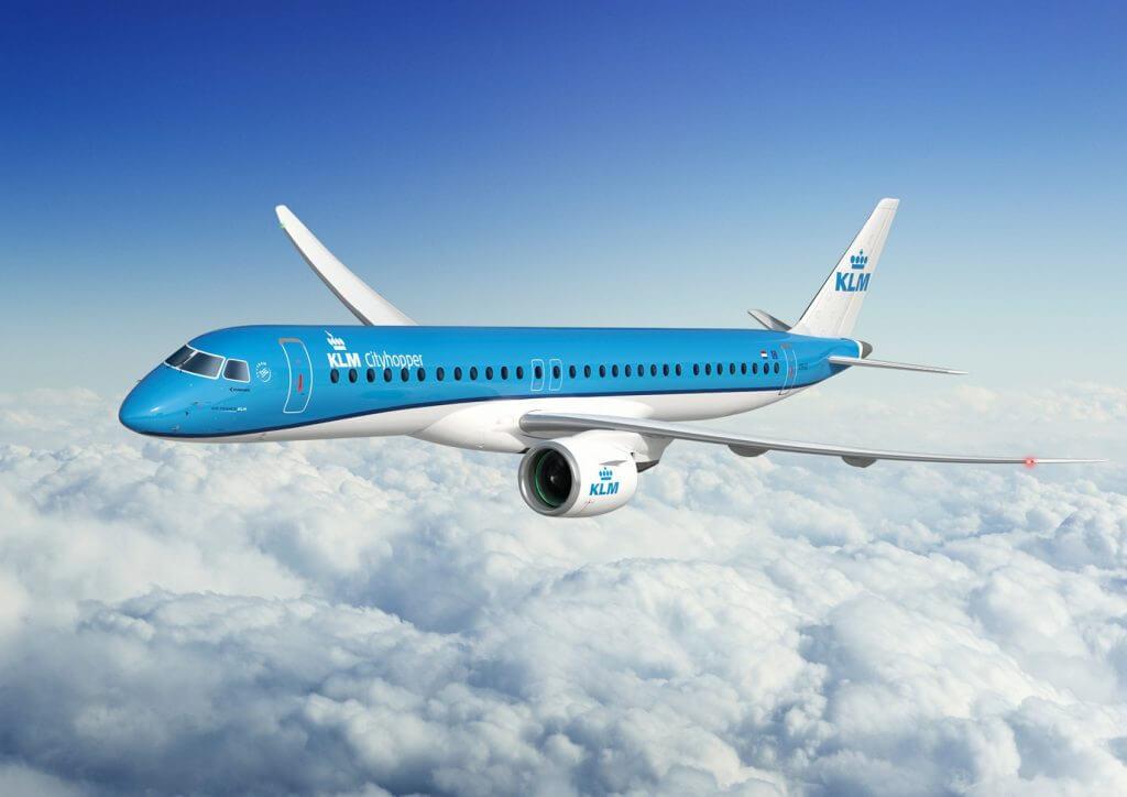 EmbraAer Jet for KLM