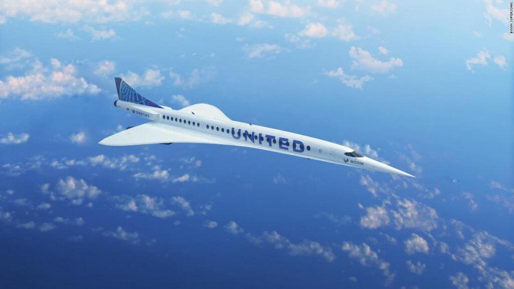 Boom supersonic United