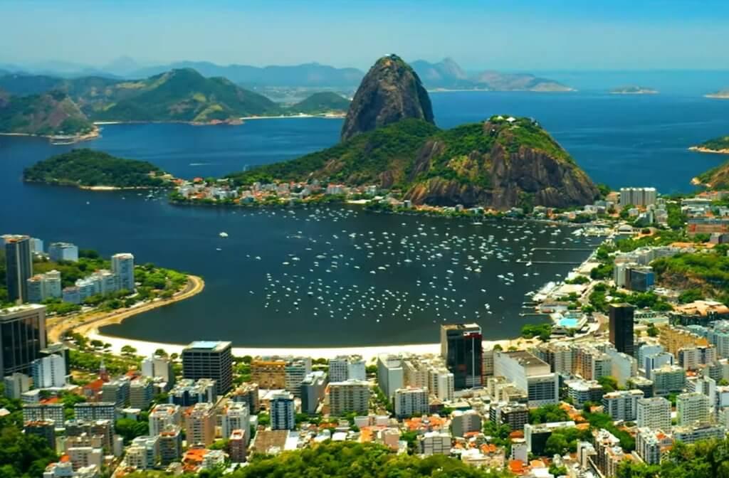 Rio de Janeiro aerial views