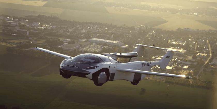 Air Car flying
